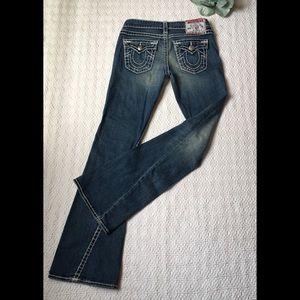 True Religion Joey Super T Jeans 15x33 sz. 29